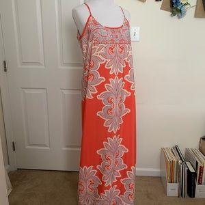 Francesca's Pink Maxi Dress